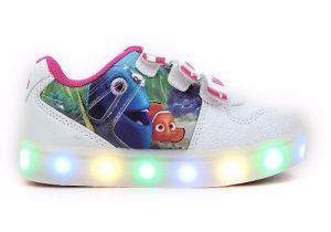 Zapatillas Disney Dory Nemo Luces Led Addnice - Mundo Manias