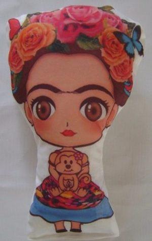 30 Llaveros Frida Kahlo Personalizados Souvenir Muñeca