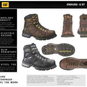 Botas Caterpillar - Cat Excavator6 Y Enduro6 (marrón