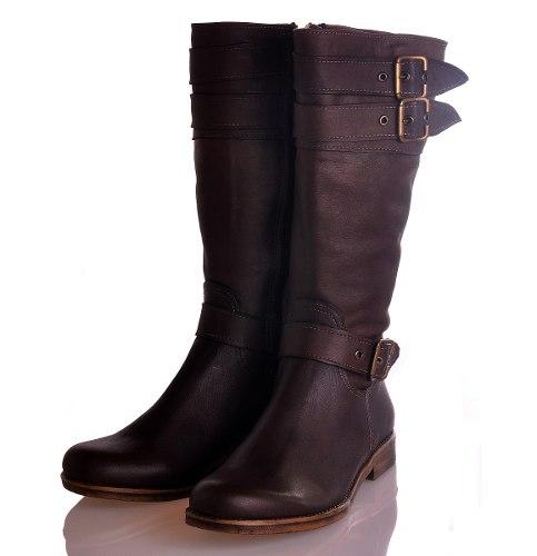 381c6a1f1 Botas Mujer Media Caña Zapatos Bota Montar Almacen De Cueros ...