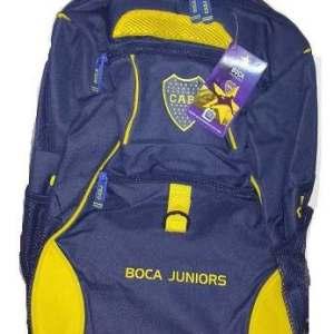 Mochila Con Carro 18 Pulgadas Boca Juniors Mundo Moda Kids