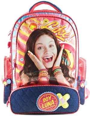 Mochila Espalda De Lujo Soy Luna 18 Pulgadas Disney Original