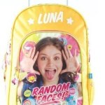 Mochila Soy Luna 16 Pulgadas Con Carro 81403 Mejor Precio!!