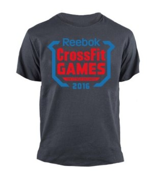 Remera Crossfit Games 2016 Premium