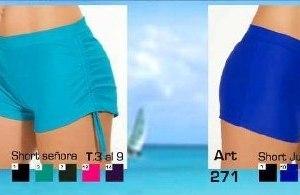 Shorts De Lycra P/tu Bikini O Tankini T 3 Al 9 $ 550
