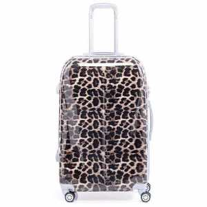Valija Estampada Mediana Animal Print Rigida 24 Ruedas 360