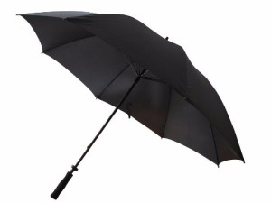 Paraguas Largo Negro Grande Tipo Golf 1