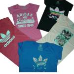 Remeras Adidas Original Dama Mc - Unicas!!!!!!