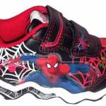 Zapatillas Atomik Con Luces Hombre Araña Orig. Mundo Manias