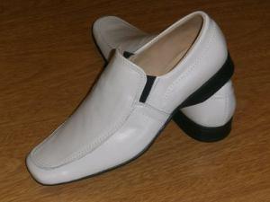 Zapatos/mocasin De Vestir  Blanco – 39 Al 45 – Ver Fotos.