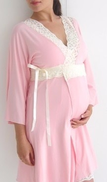 Bata Maternal Futura Mama- Embarazo