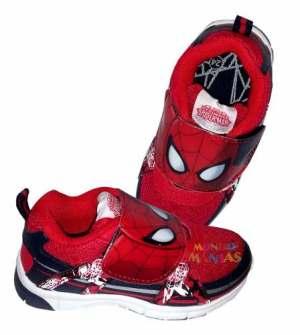 Zapatillas Atomik Hombre Araña Spiderman Orig. Mundo Manias