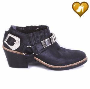 Botineta Texana Mujer Modelo Charrito De Shoes Bayres