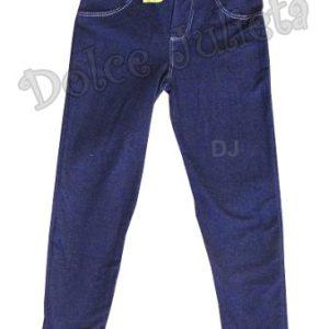 Calza Simil Jean C/bolsillo Nena Talle 2-14 Leggins Pantalon