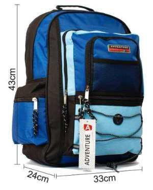 Mochila Sport Azul Celeste Cos8003 17 Pulgadas Dist Zetateam