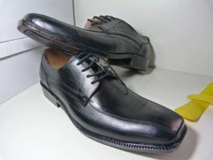 Oferton! Zapatos De Cuero Negro Con O Sin Cordones