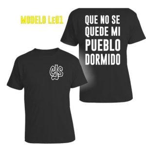 Remeras De Callejeros Cjs Don Osvaldo A Todo El Pais !!!!!!!