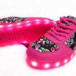 Zapatillas Con Luz Led Footy Cordon Nena  30-38 Childrens