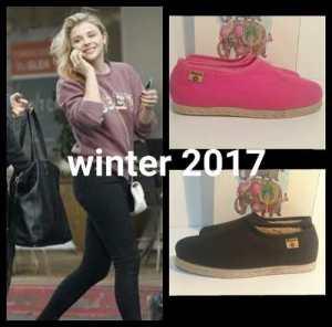 Zapato Hornito Mujer Alpargata Pantu Otoño Invierno 2017