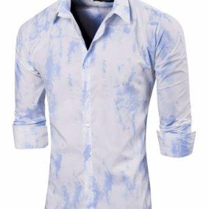Camisa Amiens Slim Fit Manga Larga Con Batik Amiens Valkymia