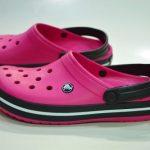 Sandalia Crocs Crocband Mujer Fuccia Original