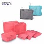 Set De Bolsas Organizadoras De Valija Travel Tech / E-sotano