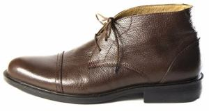 Zapato Bota Hombre – Cuero – Media Caña