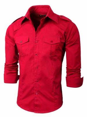 Camisa Entallada Dus Manga Larga Valkymia