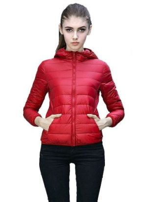 Campera Mujer Inflable Negro Azul Rojo Rosa Simil Uniqlo