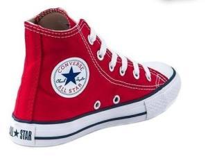 Converse All Star Bota Roja Niños Del 27 Al 34