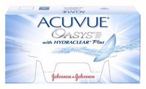 Lentes De Contacto Acuvue Oasys Hydraclear Plus + Uv X 6