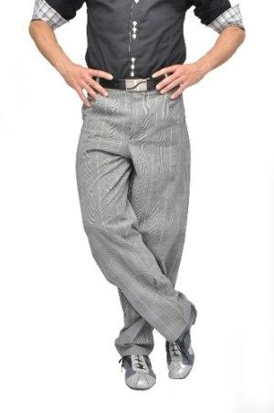 Pantalones Clásicos 4 Corazones Hombre | Tango Salsa Rock