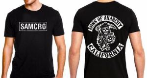 Remera Samcro Sons Of Anarchy Excelente Calidad Somos Local!