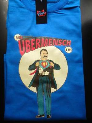 Remeras Nietzsche Estampadas Superman Filosofia Varias