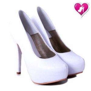 Stilletto Taco Plataforma Cuero Model Nacha De Shoes Bayres