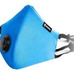Barbijo Infantil Color Azul Con Válvula Niños Stoper