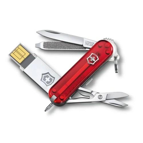 Navaja multiusos Victorinox USB Victorinox@work 16GB 1