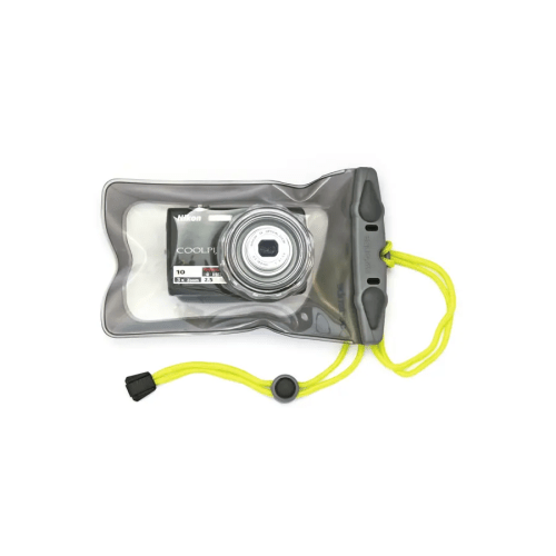 Funda Aquapac 428 IPX8 para cámara de fotos pequeña con lente