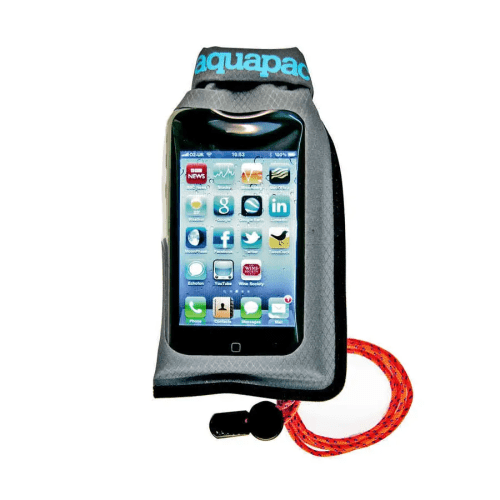Funda Aquapac 044 IPX5 para móvil y GPS mini gris