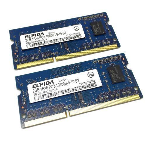Módulo de memoria Elpida SO-DIMM DDR3 2GB 1333 Mhz 1