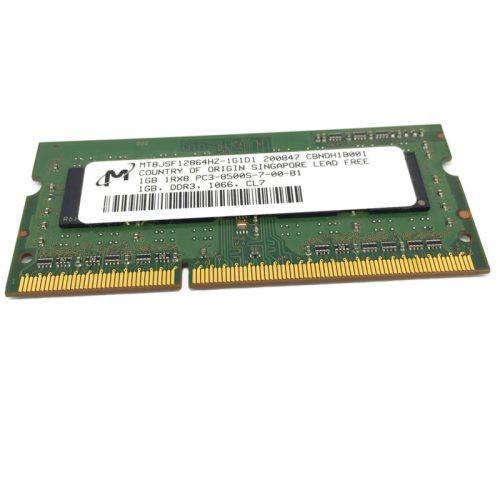 Módulo de memoria Micron SO-DIMM DDR3 1GB 1066 Mhz