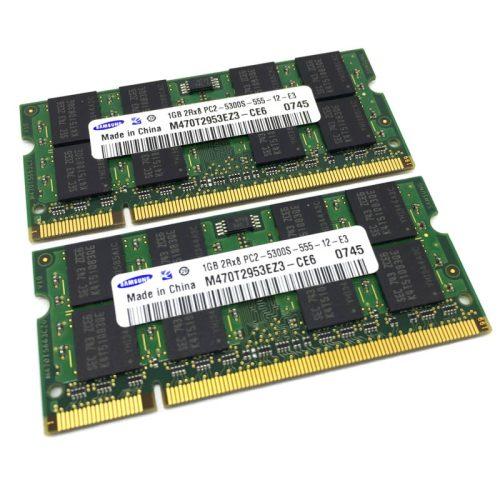 Módulo de memoria Samsung SO-DIMM DDR2 1GB 667 Mhz 1