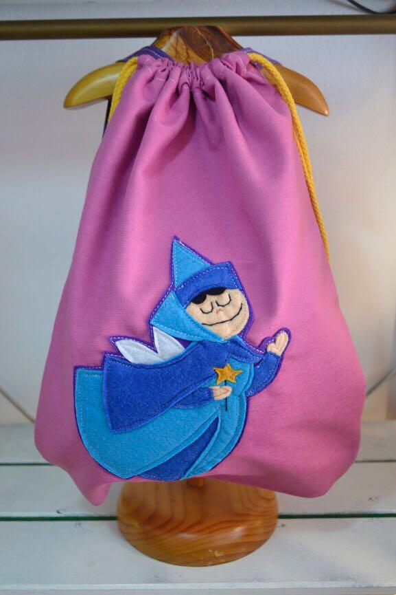 mochila infantil de hada