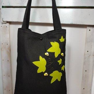 bolso de tela original abejas