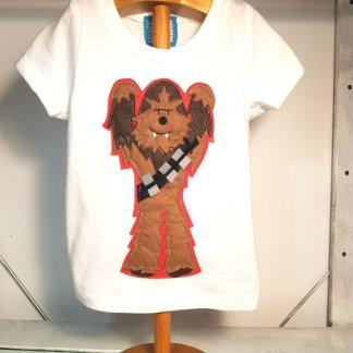 camiseta infantil de Chewbacca