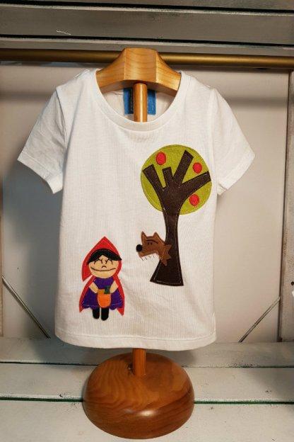 camiseta infantil de Caperucita