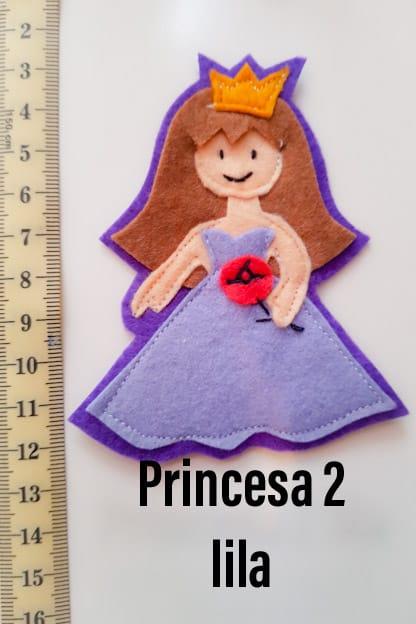 broche princesa 2 lila