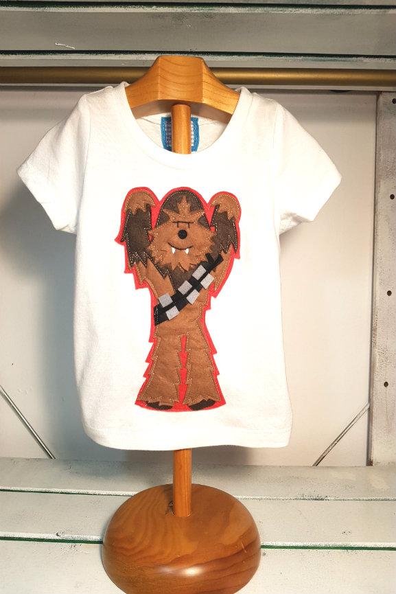 Camiseta infantil Chewbacca