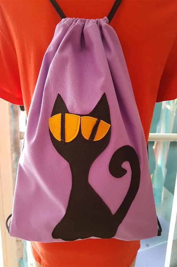 Mochila Gato Negro