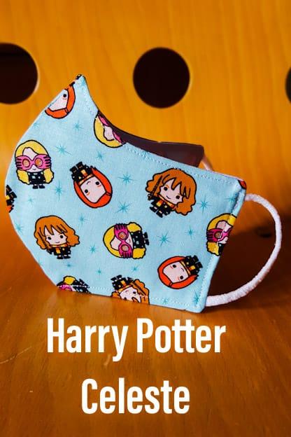 Mascarilla Harry Potter Celeste